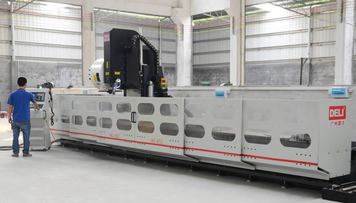 9.6米长型材加工中心